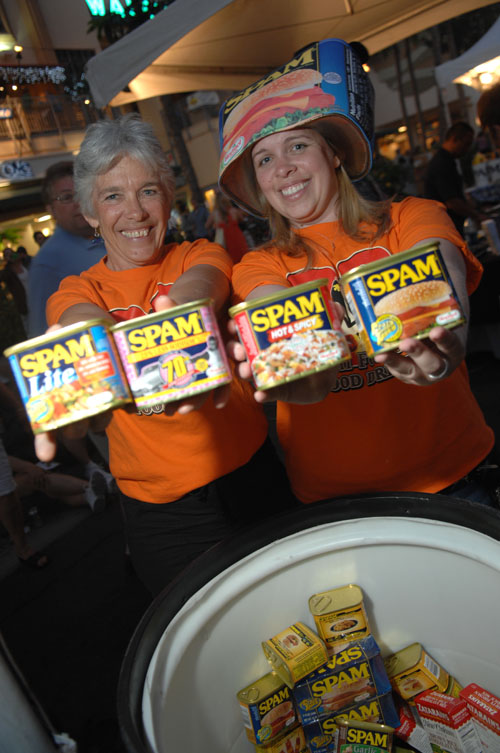 Donate a Can of SPAM