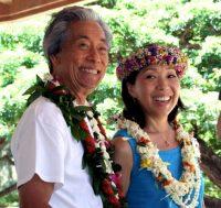 2015 Roy & Kathy Sakuma.Photo Tina MahinaCourtesy Ukulele Festival  Hawaii