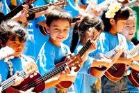 Courtesy Ukulele Festival Hawaii. Tina Mahina