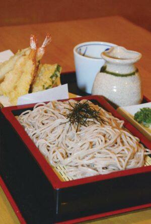 稲葉の天ぷらそば