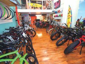 カイルアの電動自転車レンタル