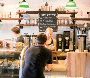 ハレイワのカフェ