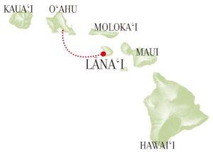 ラナイ島マップ