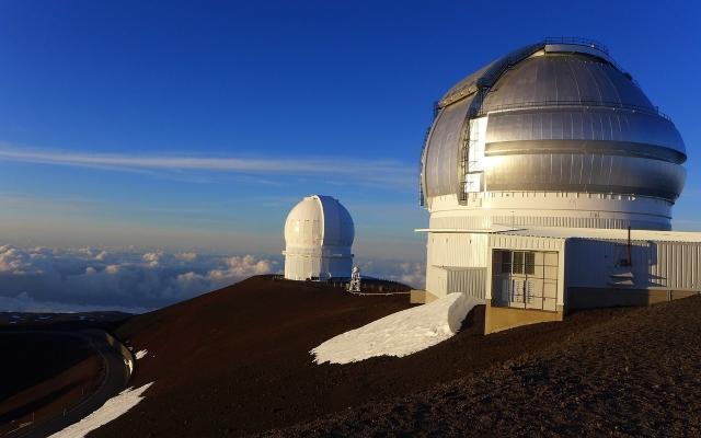 マウイ島・ハレアカラ・望遠鏡