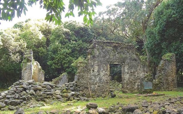 ハワイのパワースポット:ヌアヌの森のカメハメハ3世の夏の離宮
