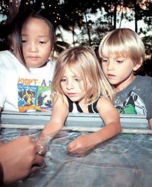 ワイキキ水族館と子どもたち