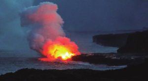 ハワイ島・キラウエア火山