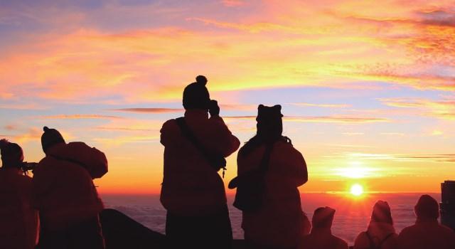ハワイ島・マウナケア山頂