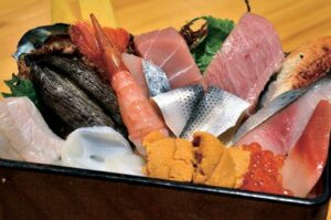 凛花のぜいたく海鮮丼