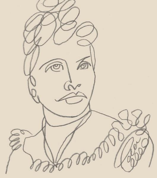リリウオカラニ女王のイラスト