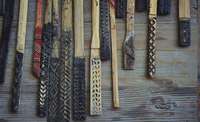 マナオラのオヘカパラの道具