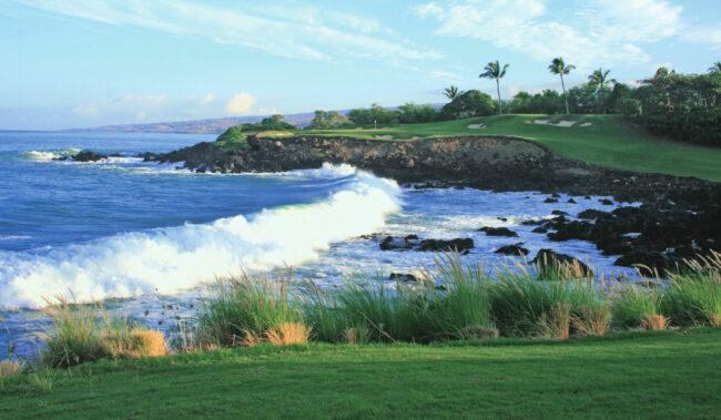 マウナケアビーチホテルのゴルフコース