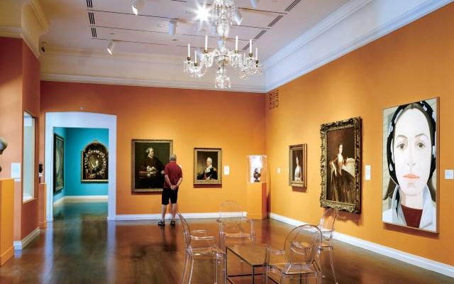 ホノルル美術館の肖像画ギャラリー