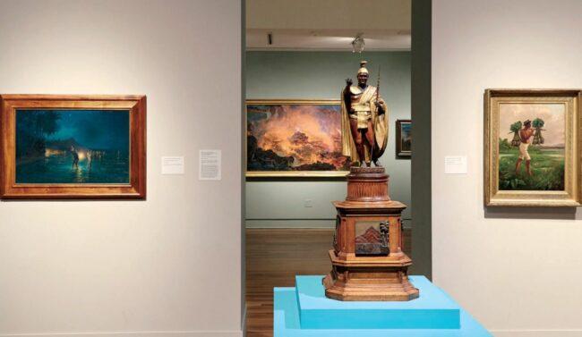 ホノルル美術館のハワイのギャラリー