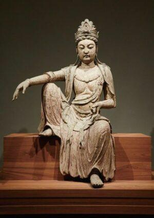 ホノルル美術館-中国の観音菩薩像_eheu-2016-spring-P17