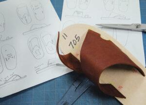 サンダルのデザイン